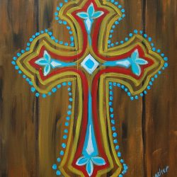 Funky Cross Private Painting Party