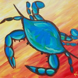 Blue Crab Painting Class