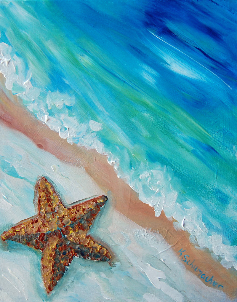 Starfish private painting party tuesday 19th july 6 30 pm for Private paint party