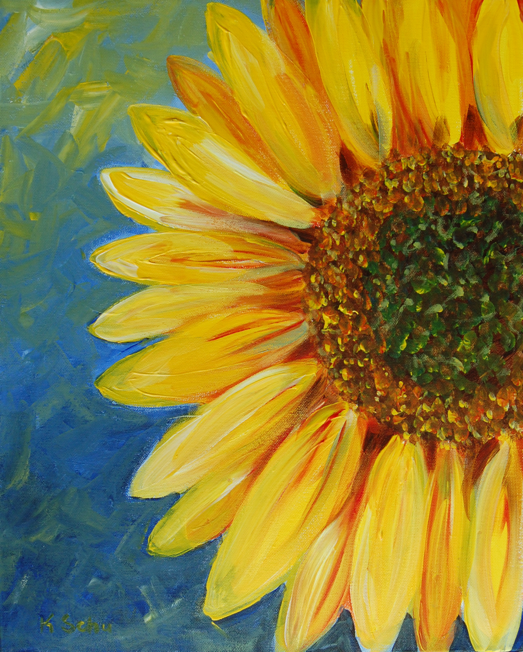 Sunflower painting party tuesday 29 mar 6 30 pm in niceville for Free photo paint
